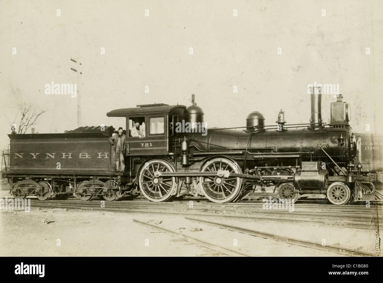 New York New Haven Hartford Railroad Motor 721 Ca 1890 S