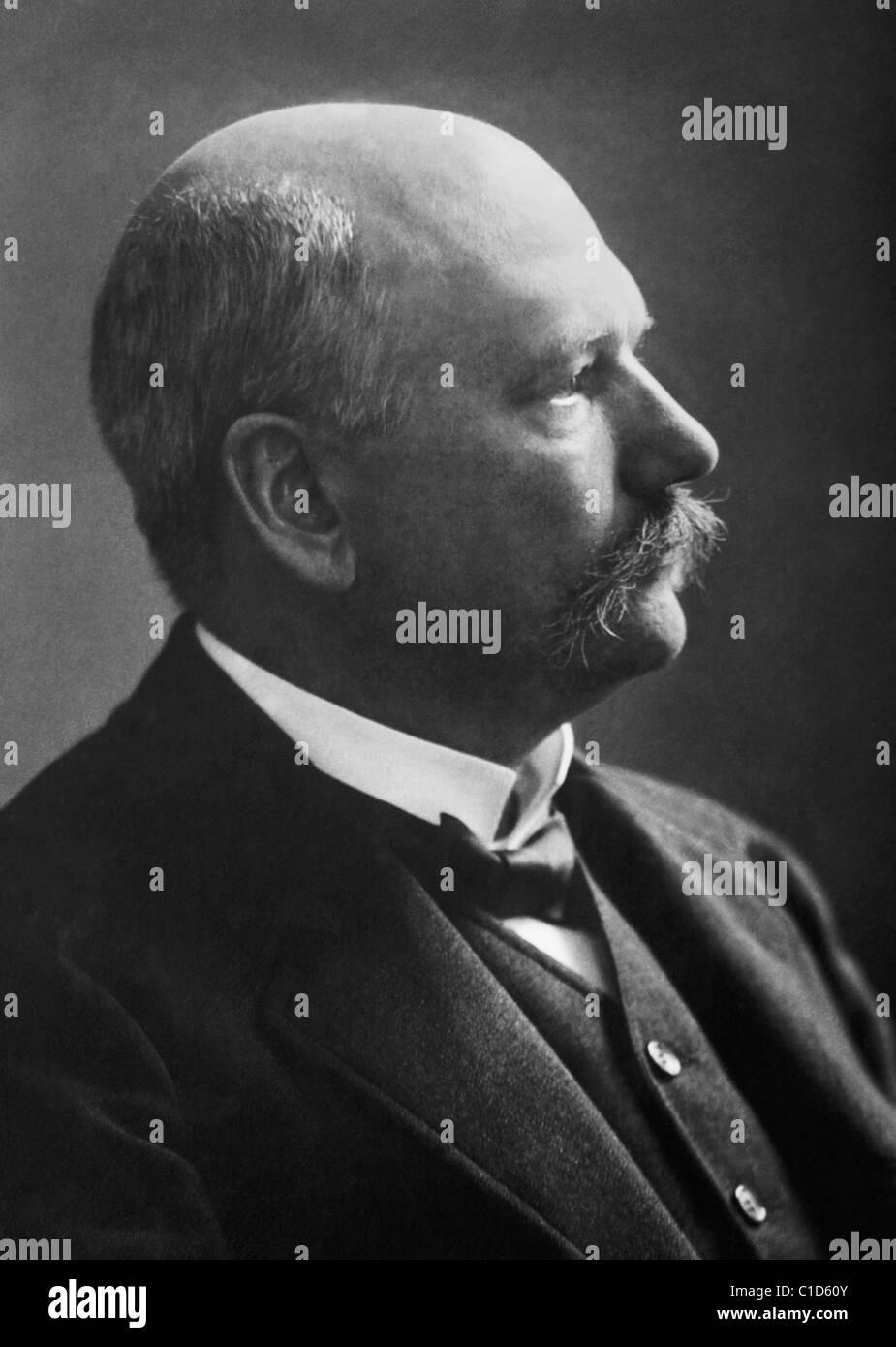 Deutscher Physiologe und Biochemiker Albrecht Kossel (1853-1927) - Sieger des Nobelpreises in der Physiologie oder Stockbild