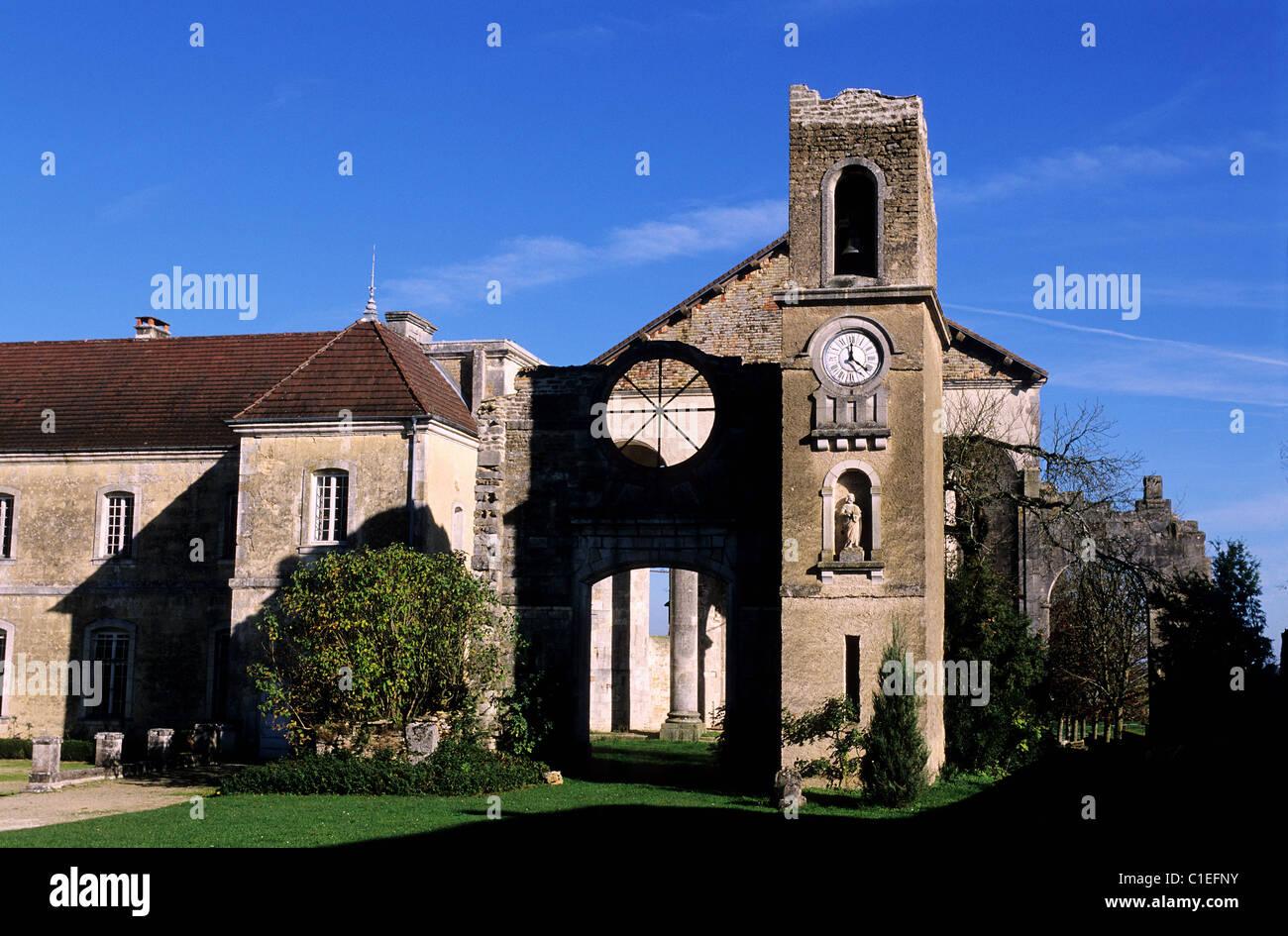 Frankreich Haute Marne Andelot Partnerstadt Saint Nicolas de Septfontaines Kloster (18. Jahrhundert) (Fragen Sie Stockbild