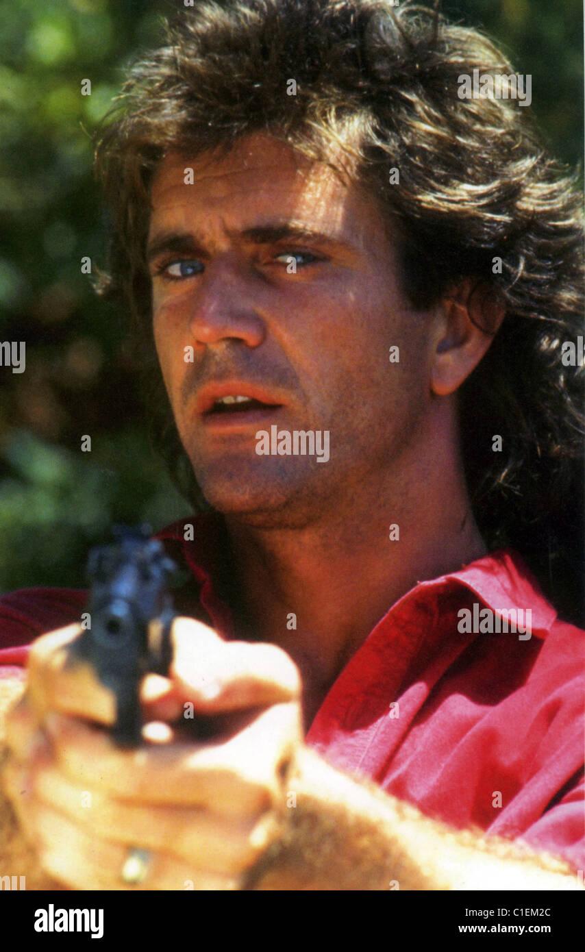 TÖDLICHE Waffe 1987 Warner Brothers Film mit Mel Gibson Stockbild