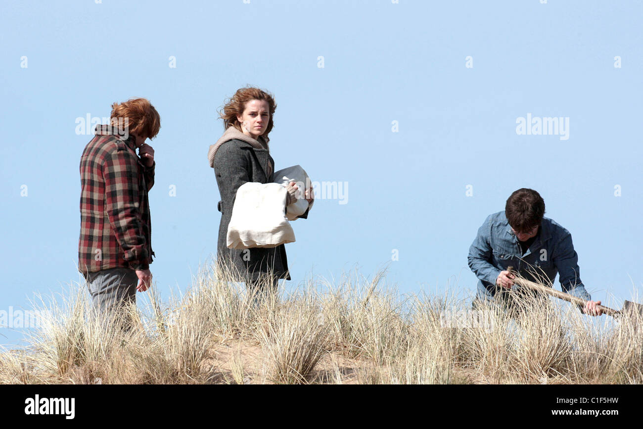 Rupert Grint, Ron Weasley, Daniel Radcliffe spielt, spielt ...
