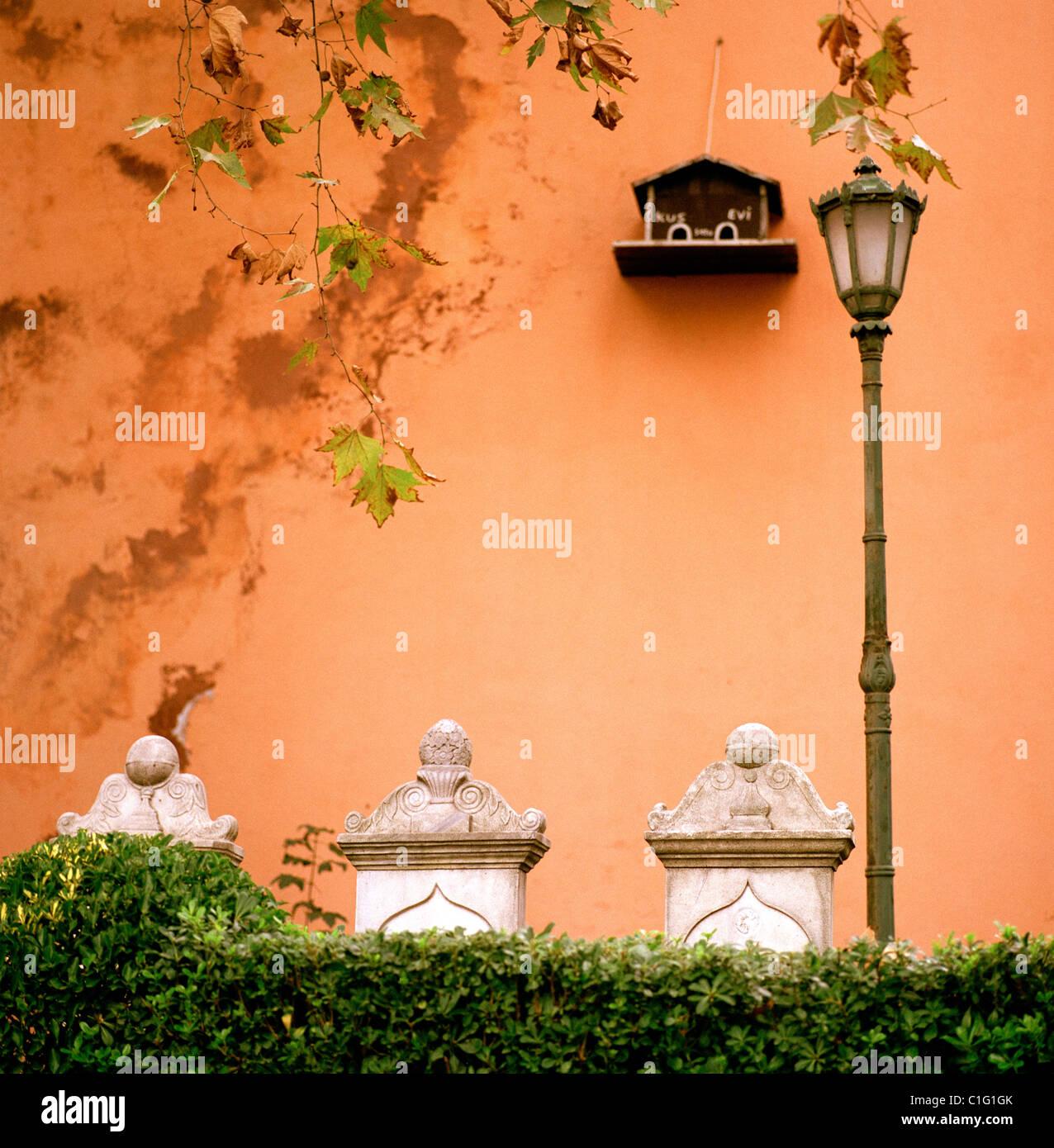 Ottoman Tombstones Stockfotos Ottoman Tombstones Bilder