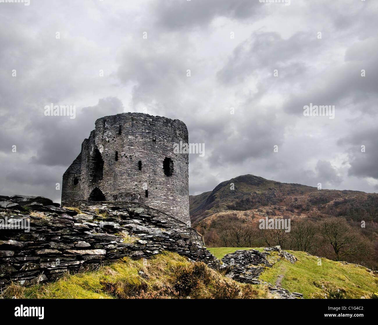 Dolbadarn Burg Stockfoto