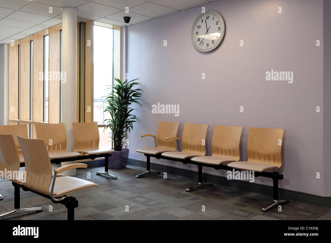 Wartezimmer Stockbild
