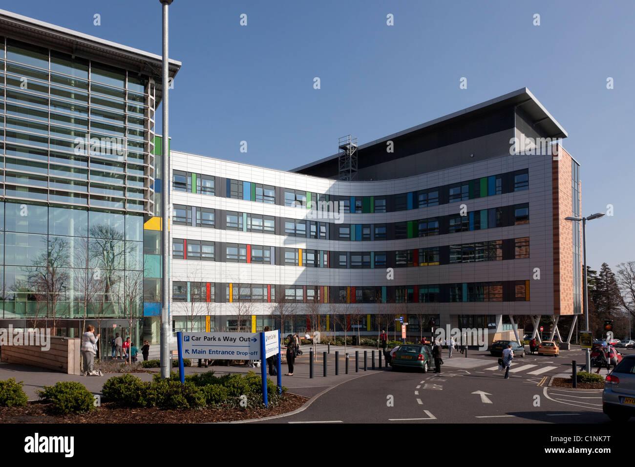 Der Königin Alexander Klinik in Cosham in der Nähe von Portsmouth Exterieur. Stockbild