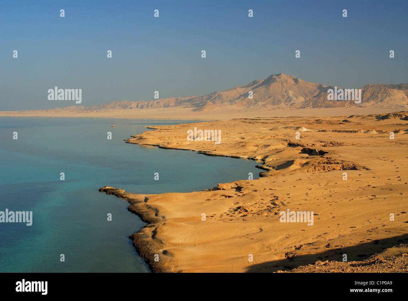 Ägypten, Tiran Insel in der Nähe von Sharm el Sheikh Stockbild