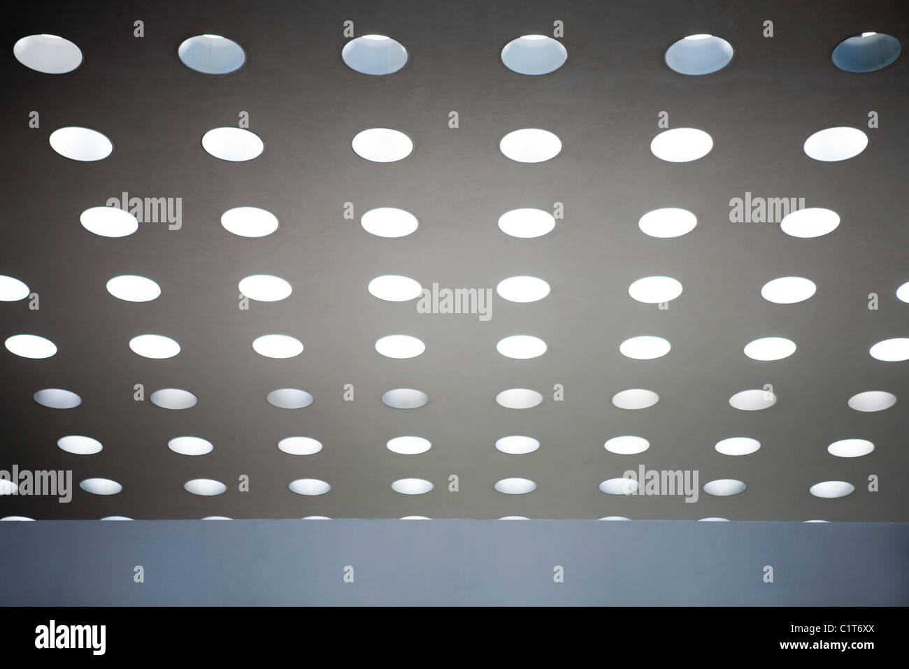 Deckenleuchten Stockbild