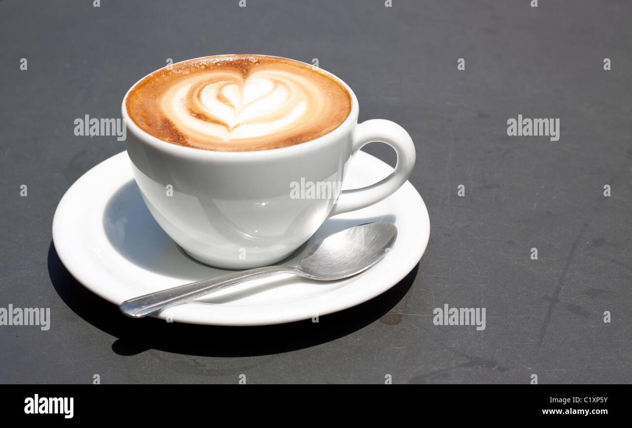 Cappuccino Stockbild