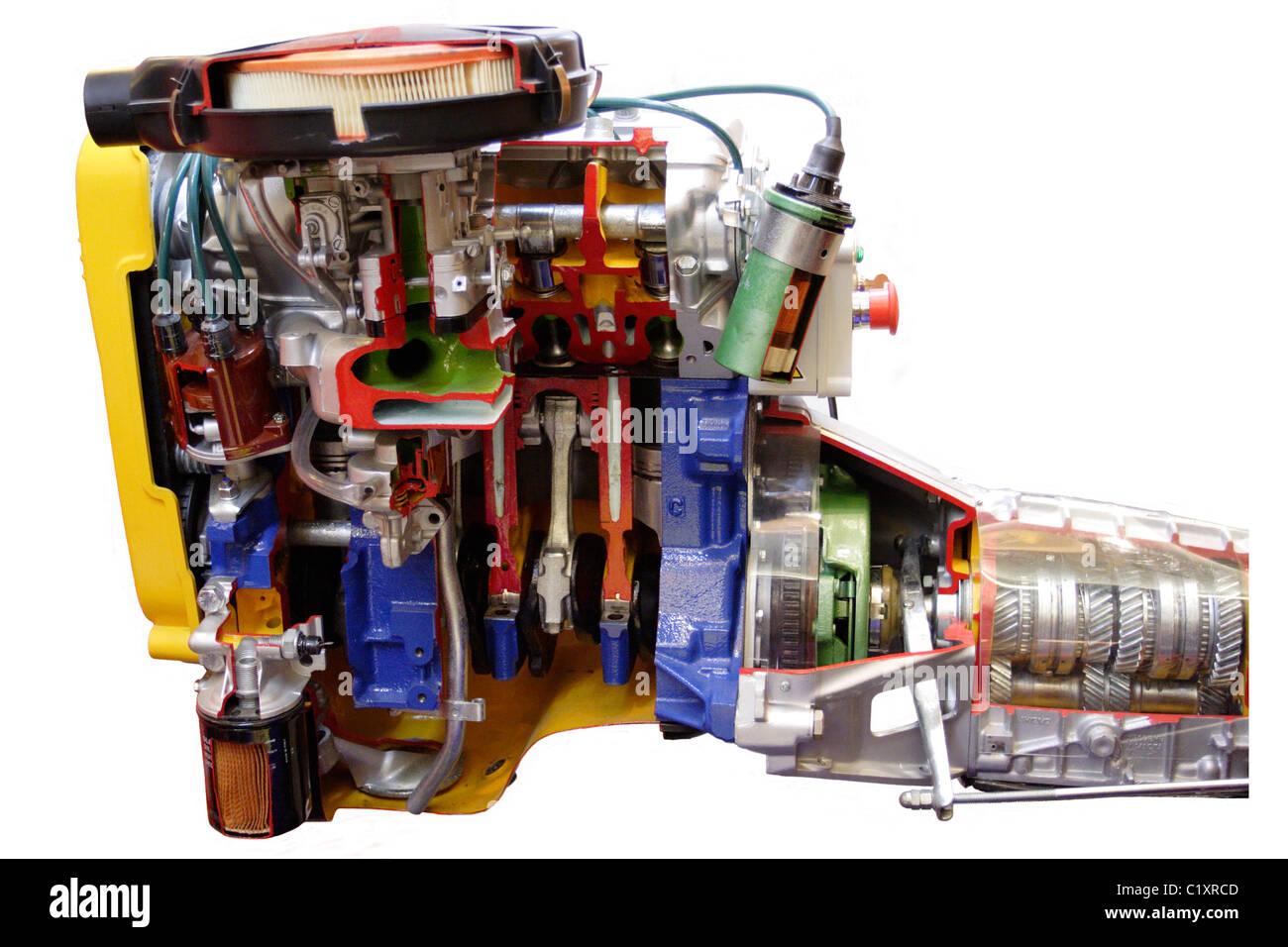 Großzügig Komponenten Eines Automobilmotors Galerie - Schaltplan ...
