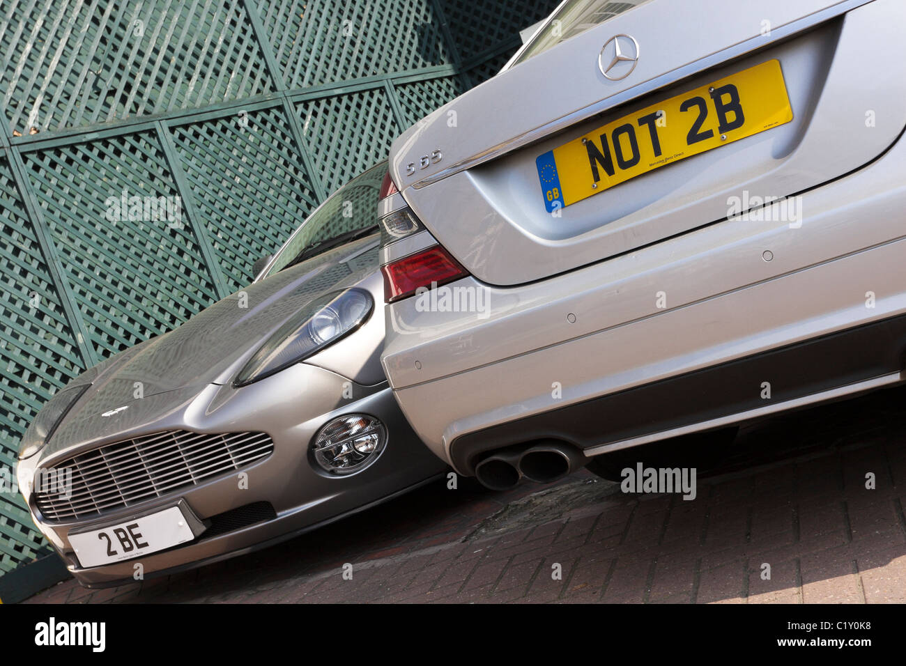Mercedes Benz Number Plates Stockfotos & Mercedes Benz Number Plates ...