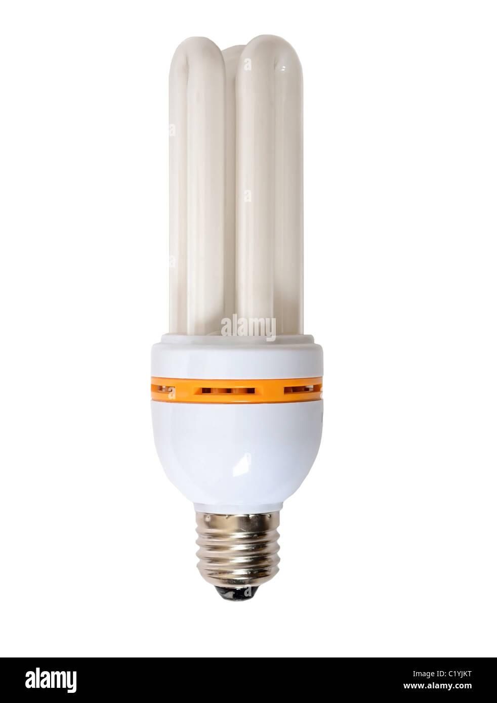 Energiesparende Glühbirne Stockbild