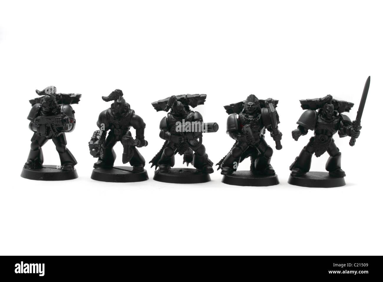 Space Wolves Pack 5 Figuren Bewaffnete Mischung Aus Bolzen Waffen