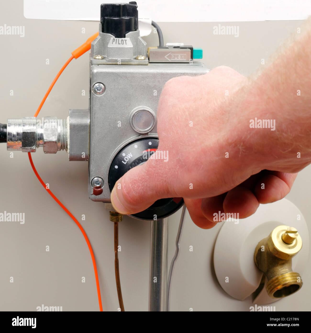 Plumbing Water Heater Stockfotos & Plumbing Water Heater Bilder - Alamy