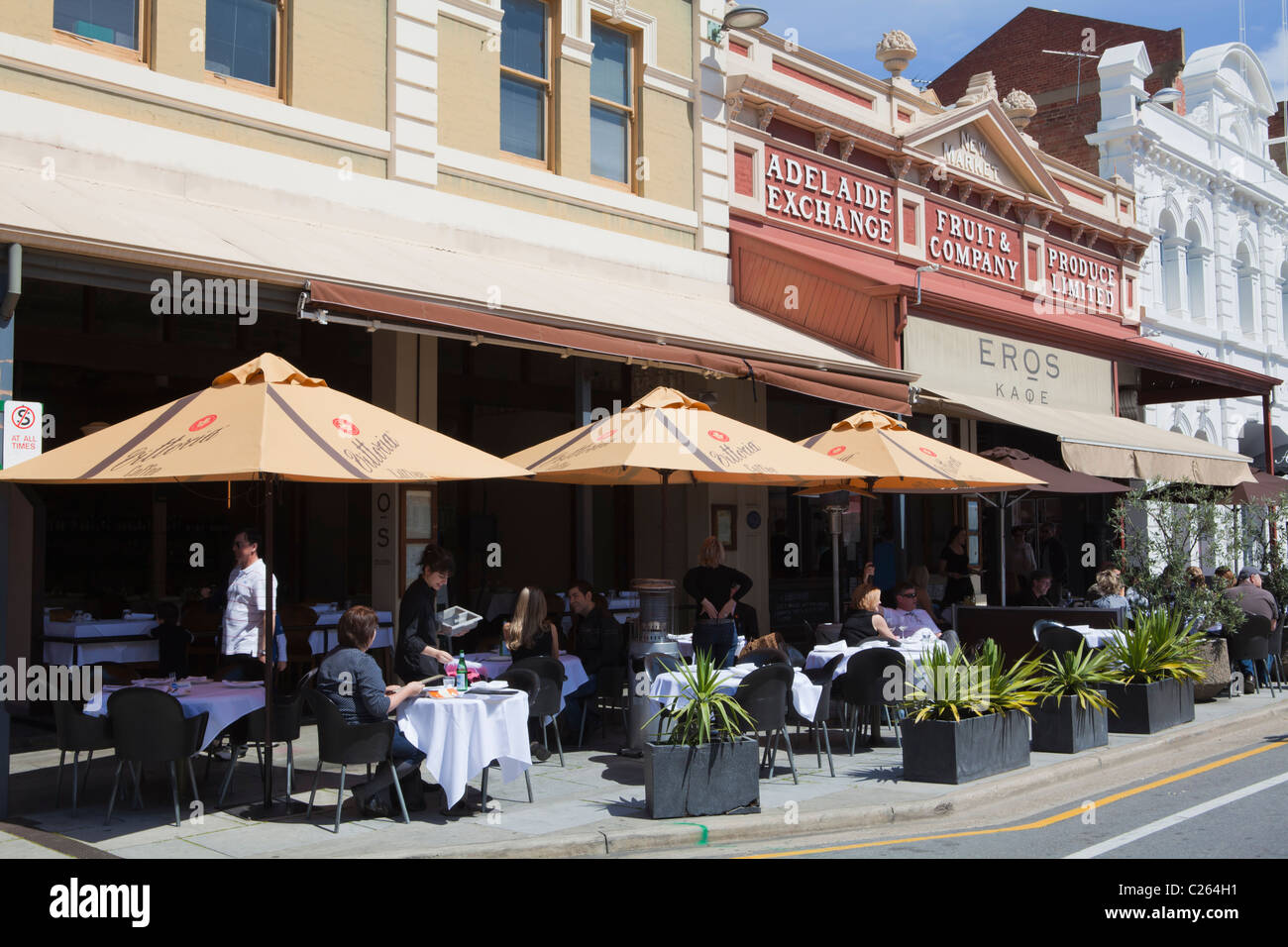 Outdoorküche Klein Cafe : Outdoor küche rundle mall rundle street adelaide südaustralien