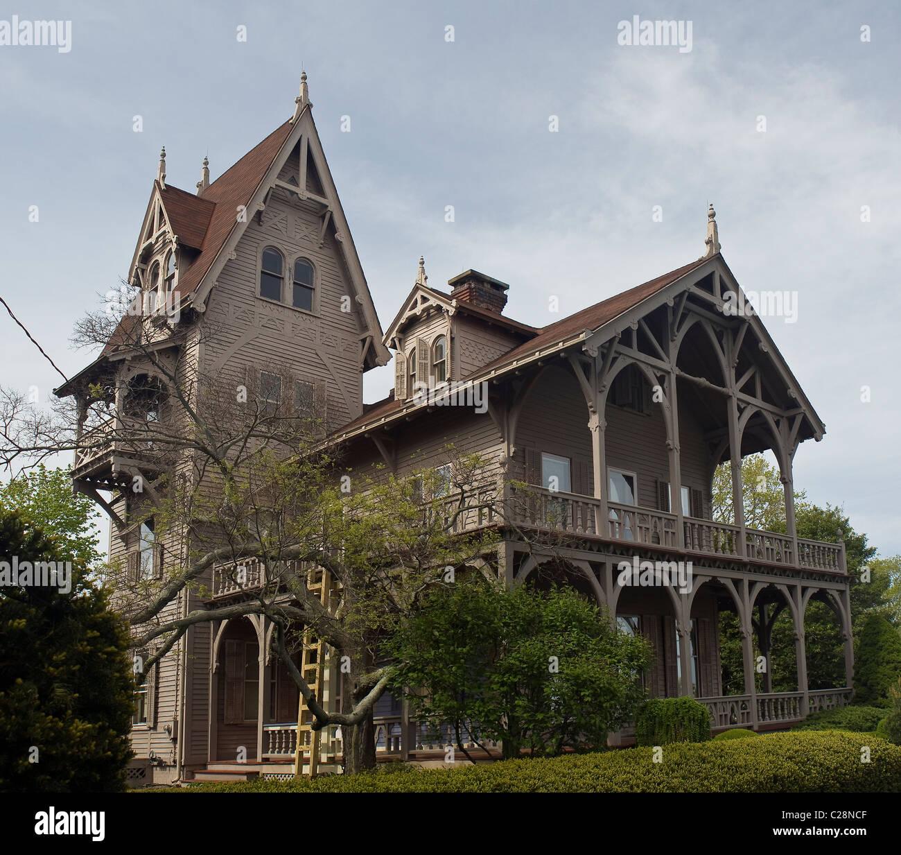 Alte gotische viktorianischen Haus in der Nähe der ...