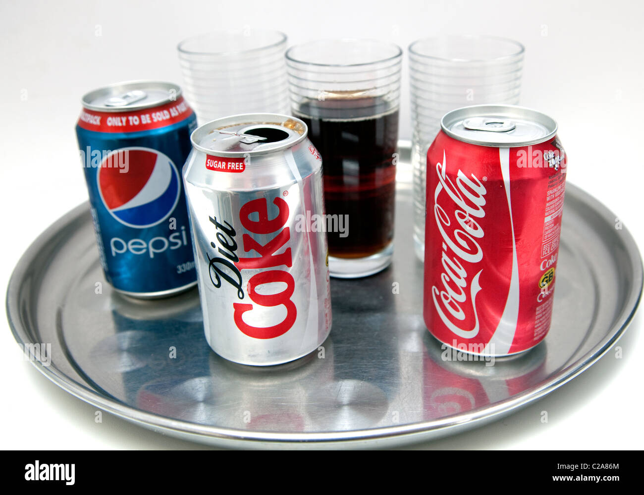 Dosen Cola Erfrischungsgetränke, London Stockfoto, Bild: 35876028 ...