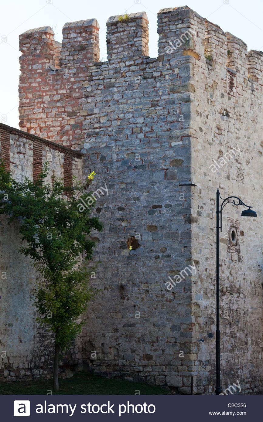 Ein klassisches Beispiel der osmanischen Architektur. Stockbild