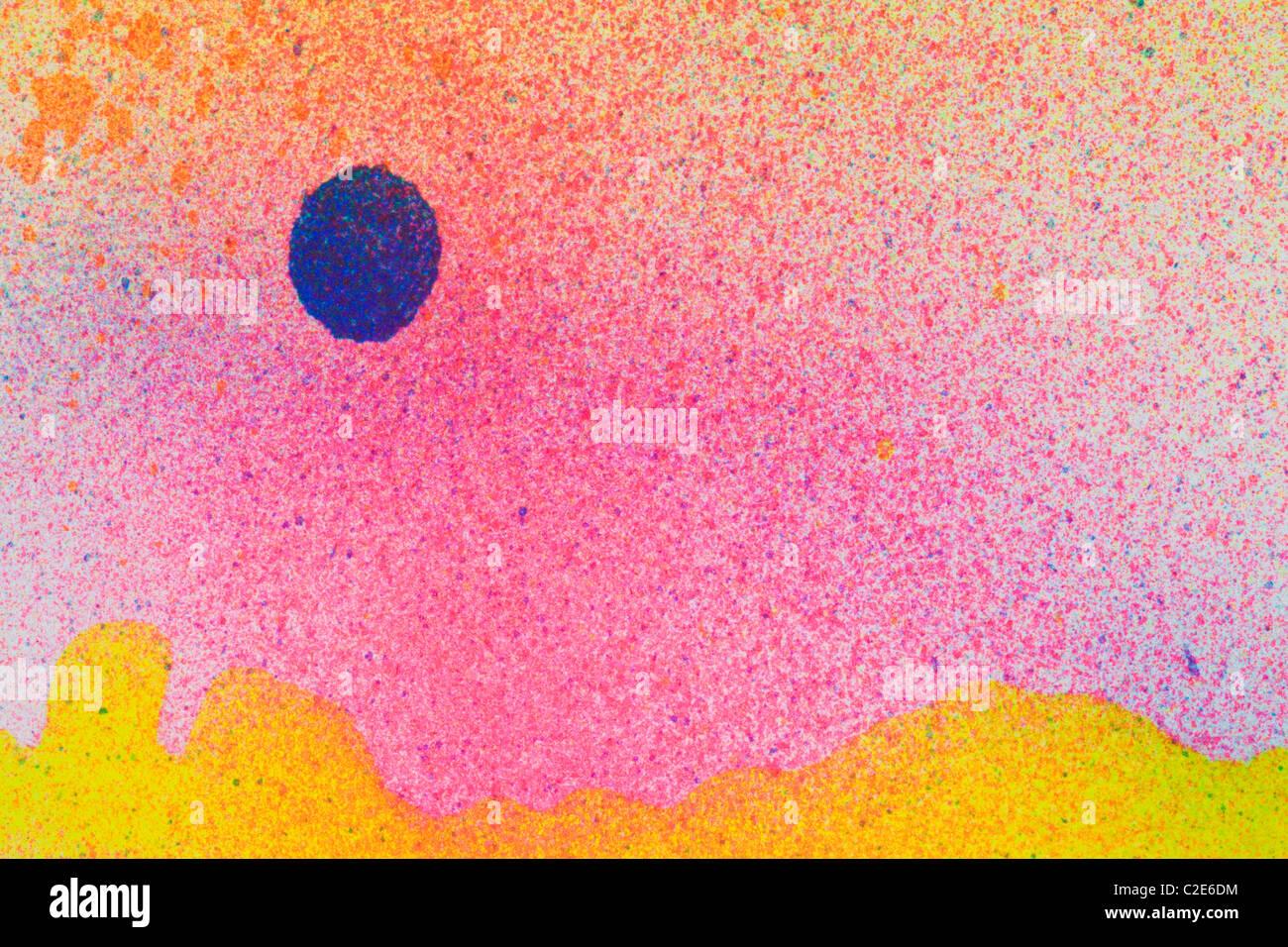 Bunte abstrakte Hintergrund Stockbild