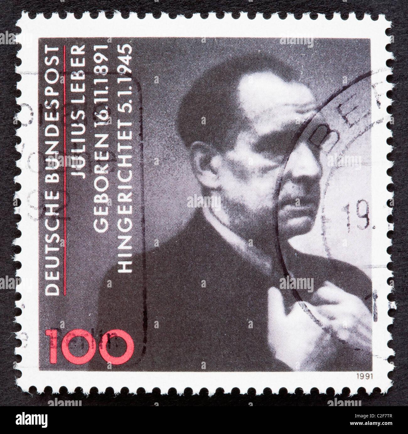 Deutsche Briefmarke Stockfoto Bild 35985511 Alamy