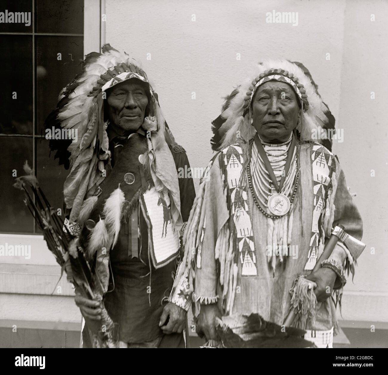 Sioux Indianer Häuptlinge