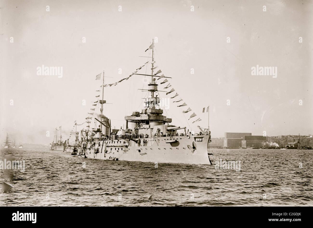 Liberte, Französisch Schiff Stockbild