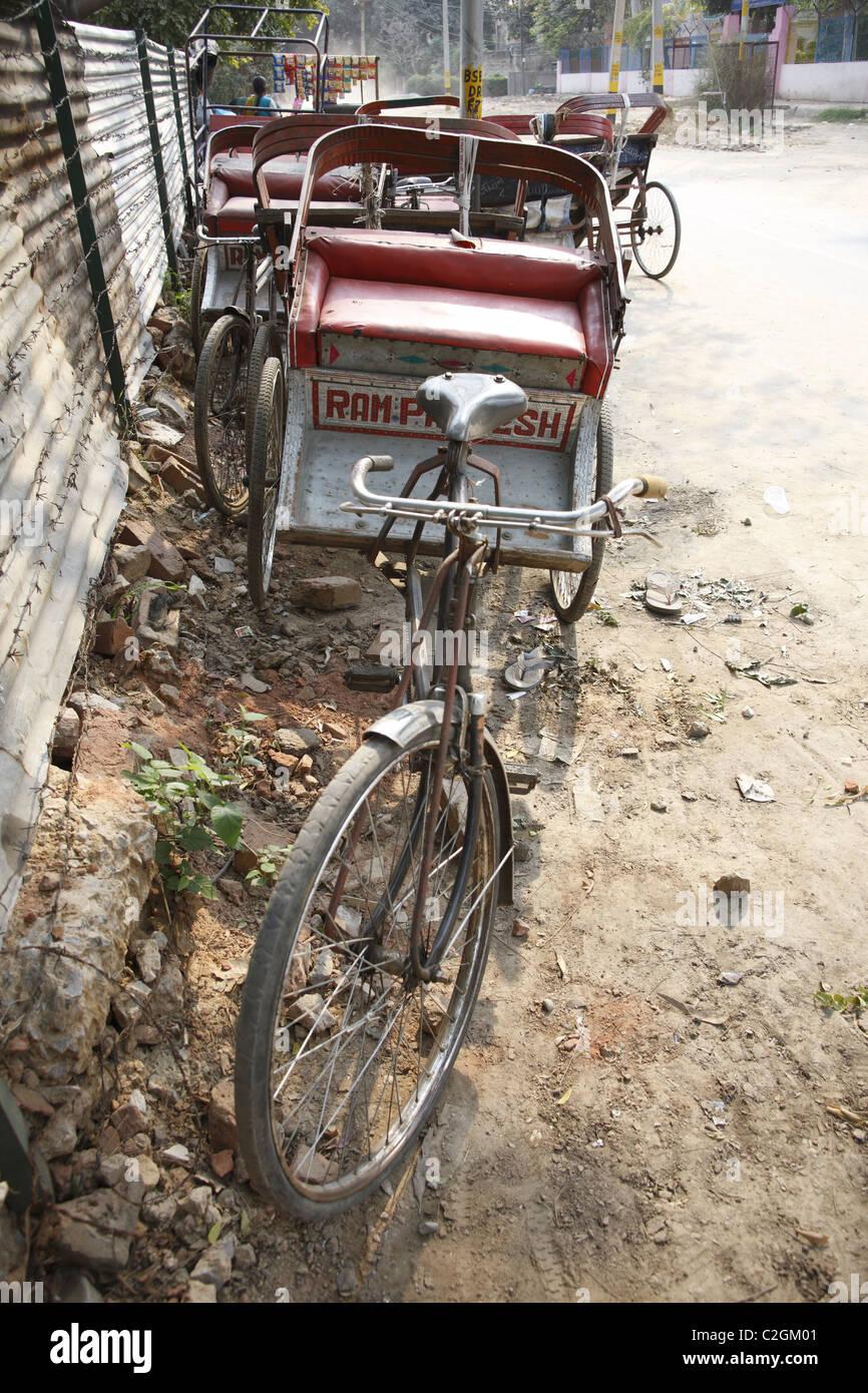 IND, Indien, 20110310, Rikscha © Gerhard Leber Stockbild