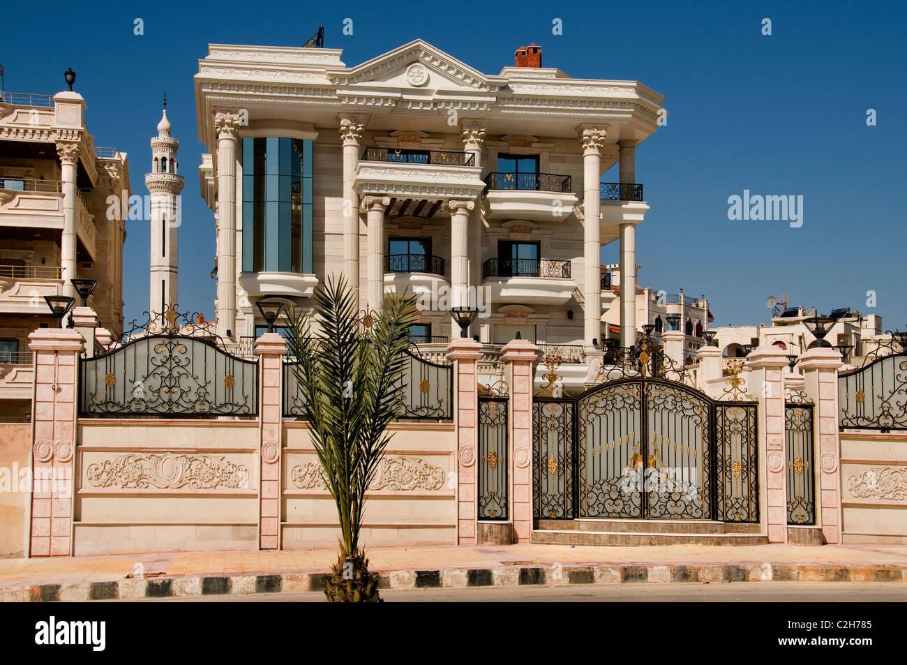 Hama Syrien teure Haus Villa wohlhabenden Familie Stockbild