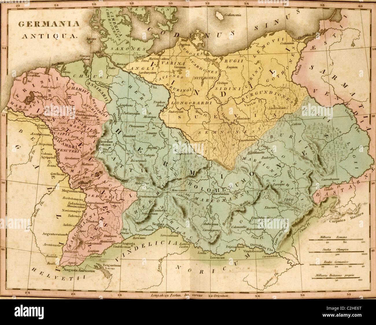 Alt-Deutschland Stockbild