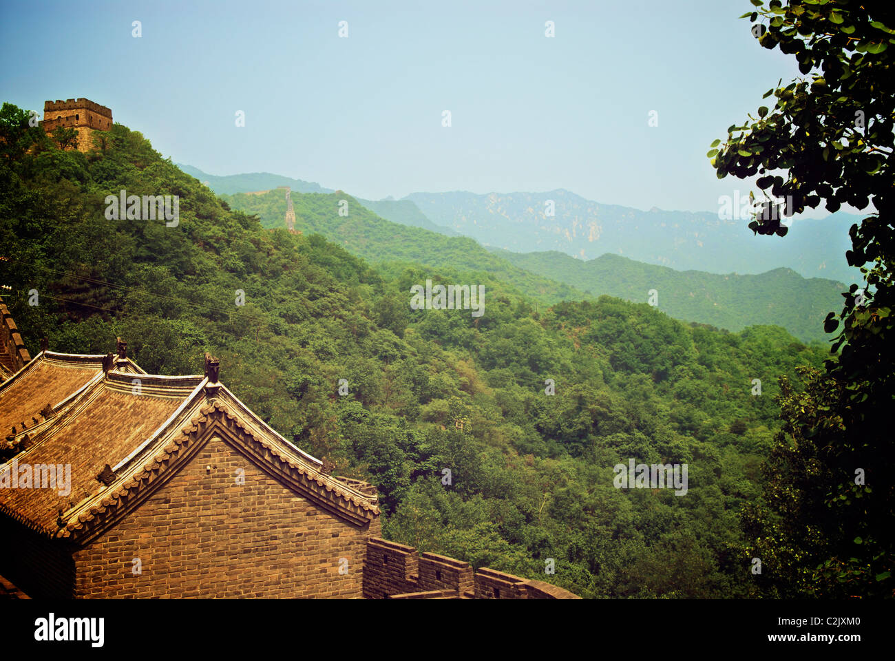 GREAT WALL OF CHINA Stockfoto