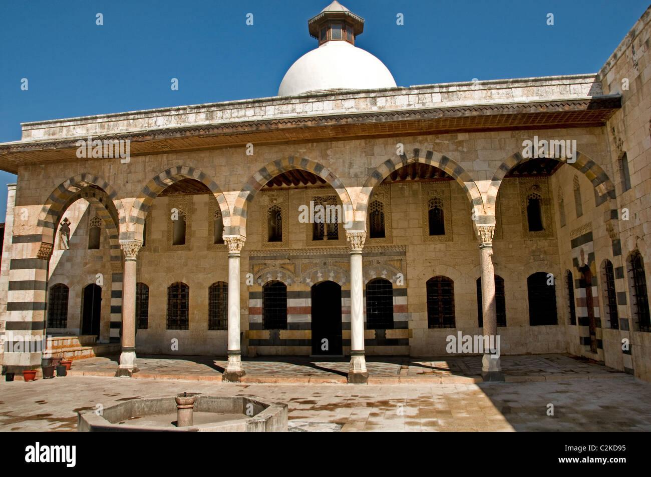 Azem Palast osmanischen Wohn Hama Syrien syrische Stockbild