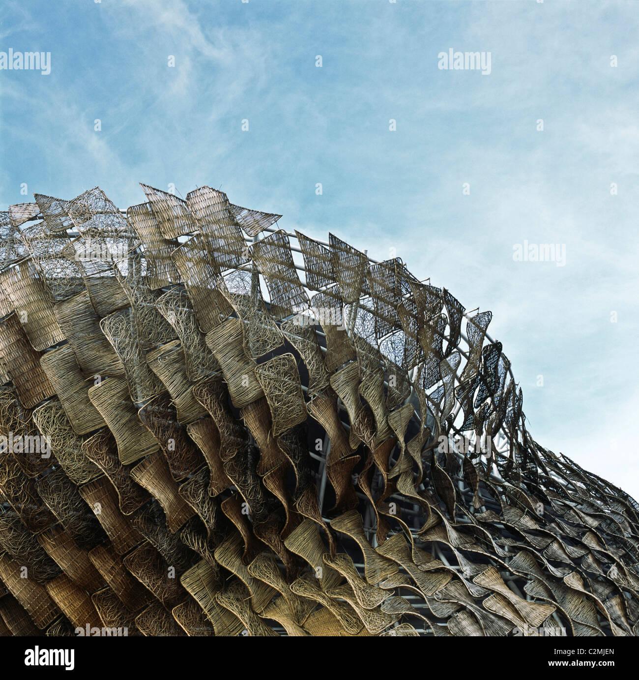 Spanischen Pavillon auf der Shanghai World Expo Weide Panels auf ...