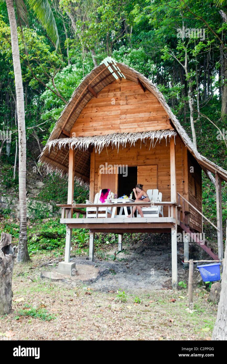 Fabulous Koh Chang oder Ko Chang Insel; Thailand Provinz Trat, Asien; Hütte VG71