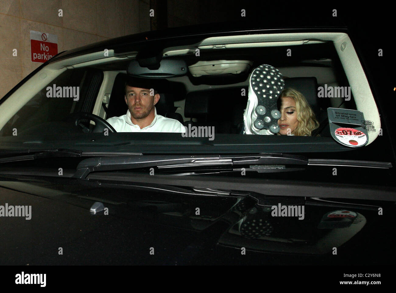 Madonna Und Ehemann Guy Ritchie Die Kabbalah Centre Stunden Vor