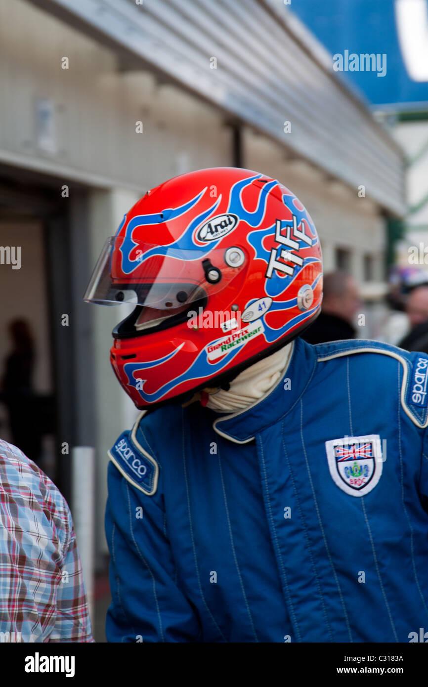 TIFF Needell Rennfahrer Stockbild