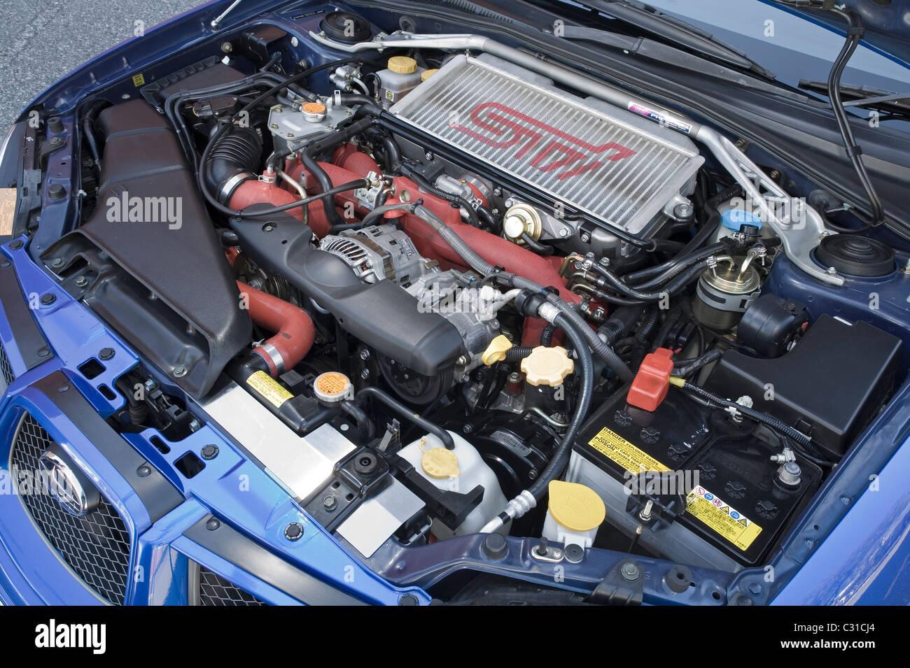 Subaru Impreza Wrx Engine Stockfotos Und Bilder Kaufen Alamy