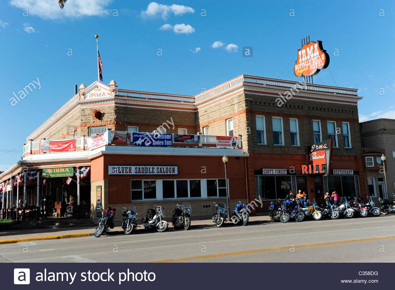 Irma Hotel, Cody, Wyoming, usa Stockbild