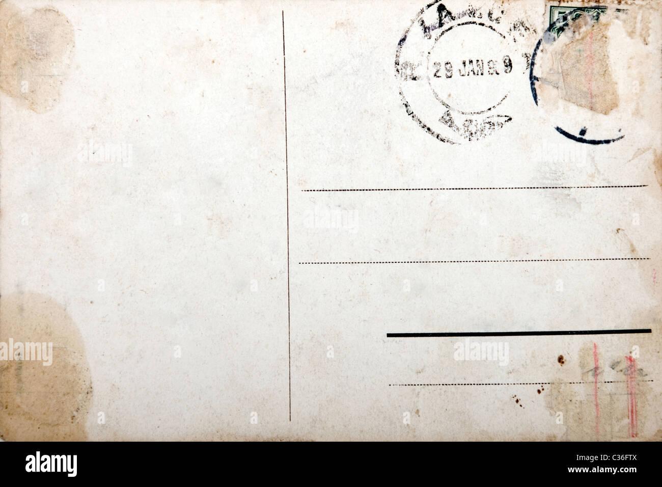 Gemütlich Alte Postkarte Vorlage Galerie - Beispiel Business ...