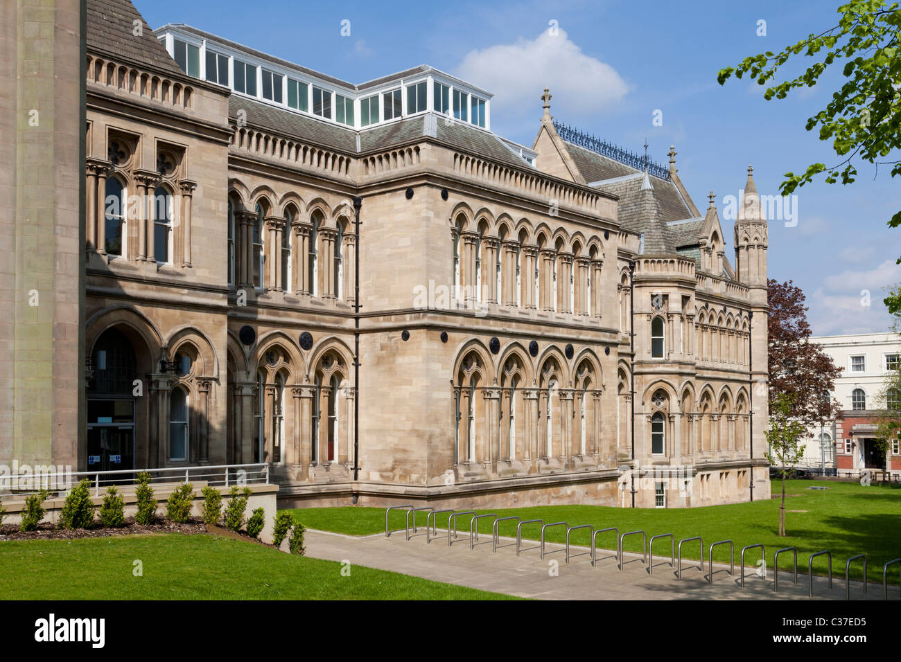 Newton und Arkwright Gebäude Nottingham Trent University, Nottingham, Vereinigtes Königreich Stockbild