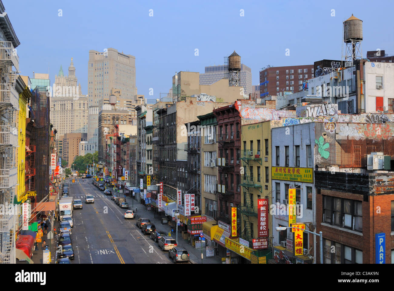 view chinatown in new york stockfotos view chinatown in new york bilder alamy. Black Bedroom Furniture Sets. Home Design Ideas