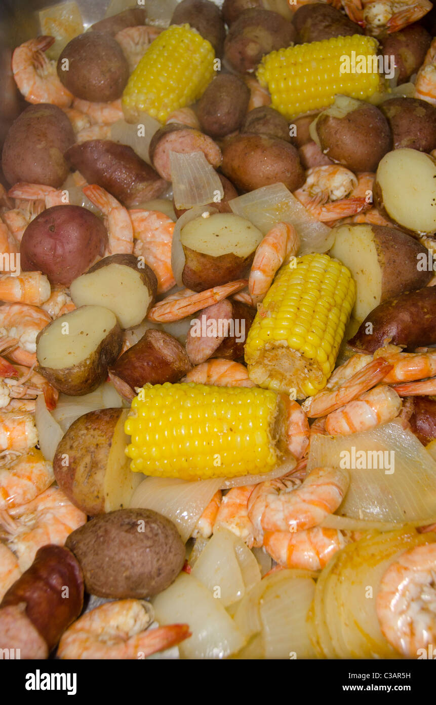 Shrimp Boil Nobody Stockfotos & Shrimp Boil Nobody Bilder - Alamy