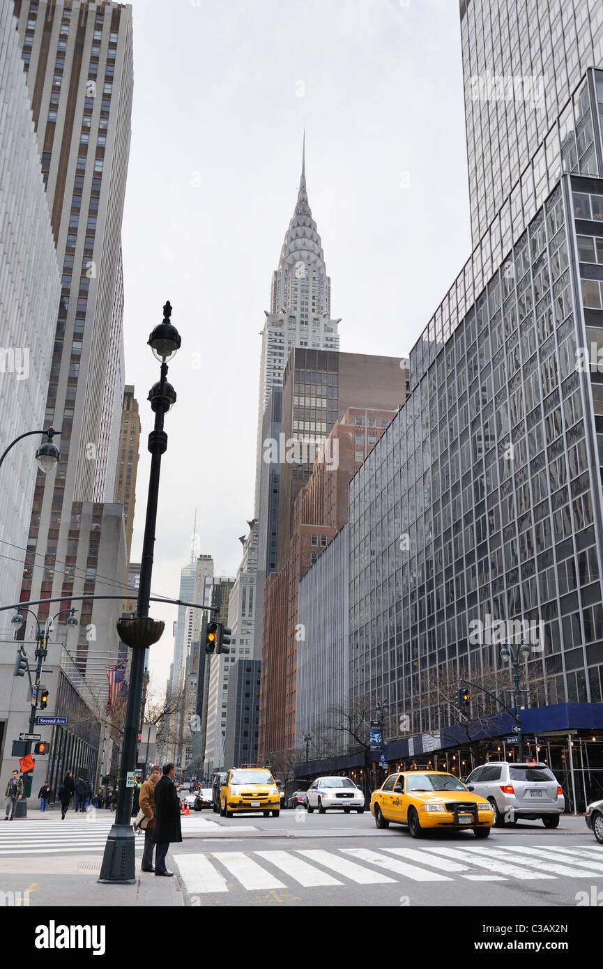 42 Street, Manhattan, New York City Stockbild