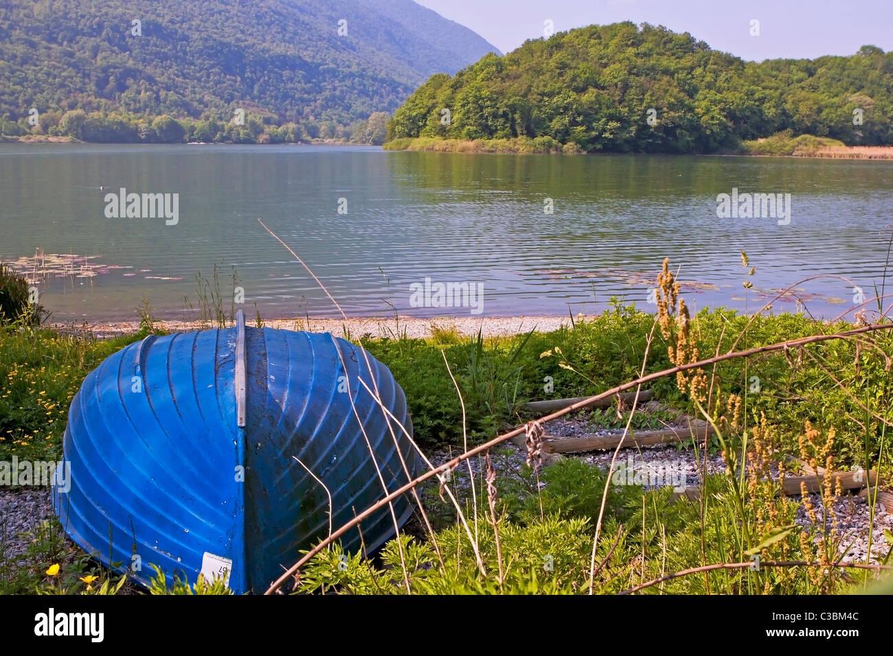 Lago di Piano - Lombardei - Italien Stockbild