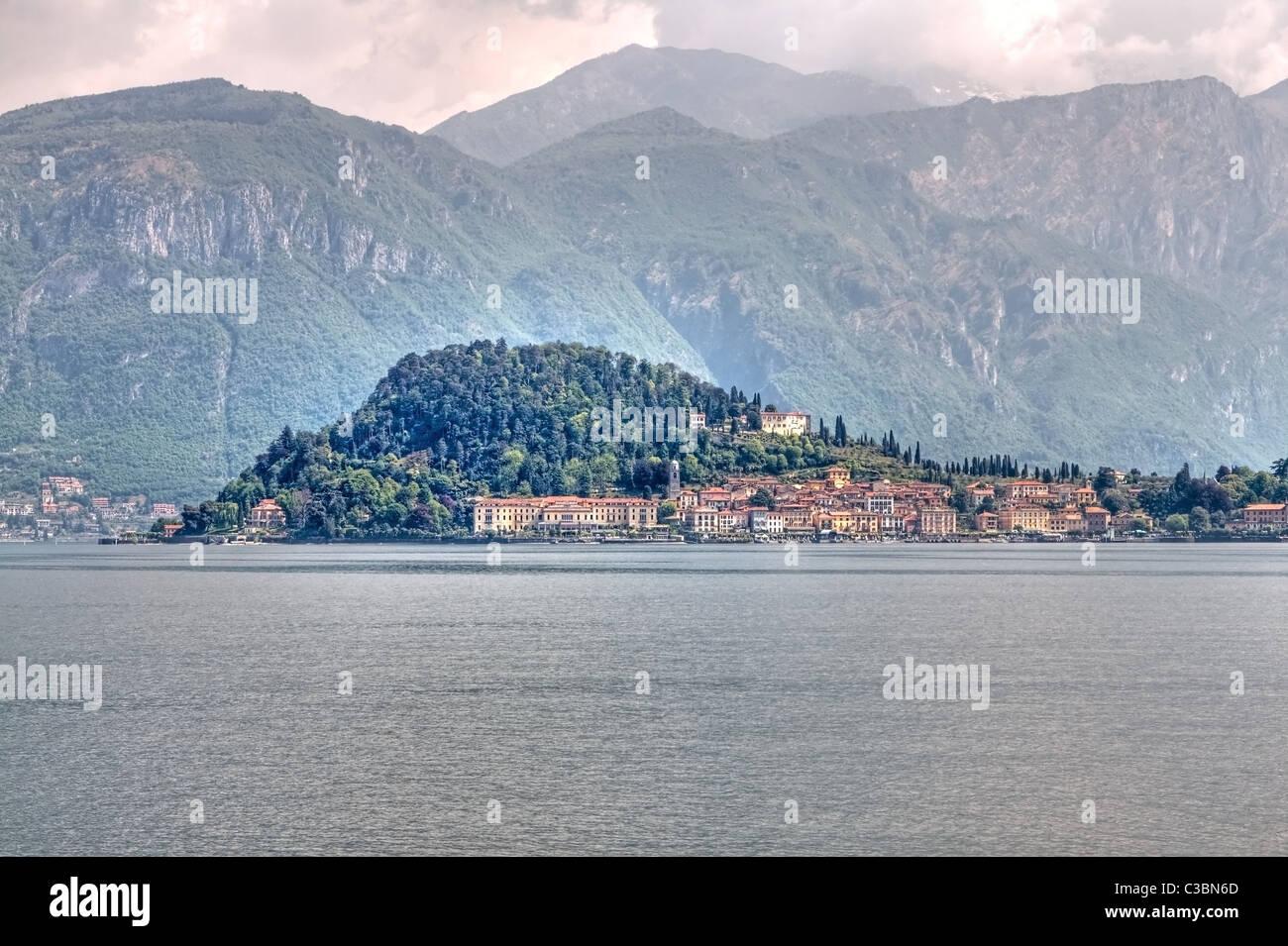 Blick Auf Bellagio Stockbild