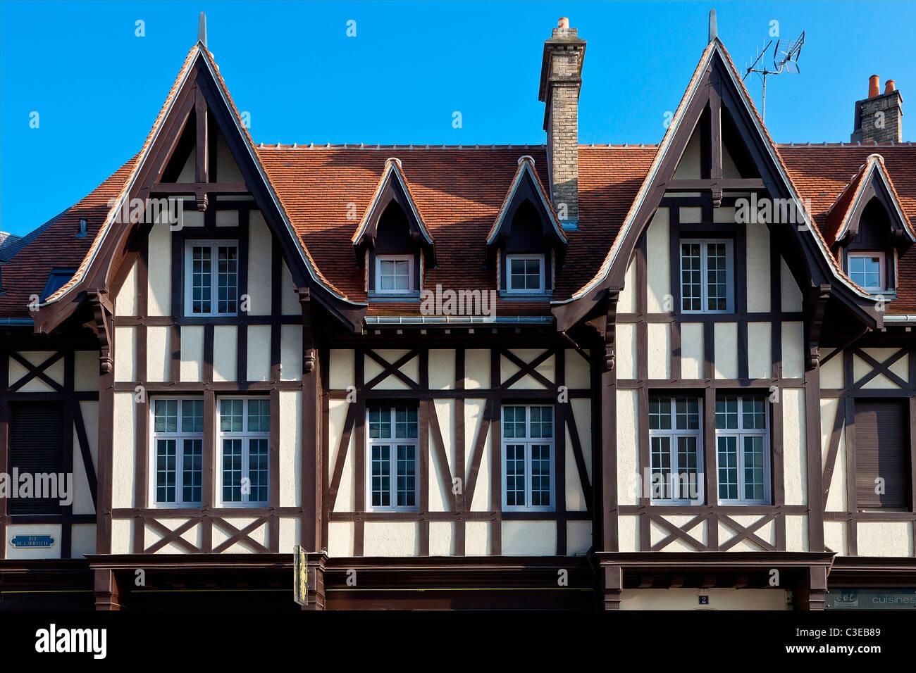 Europa, Frankreich, Reims, Marne (51), Wohnung, Place du Forum Stockbild