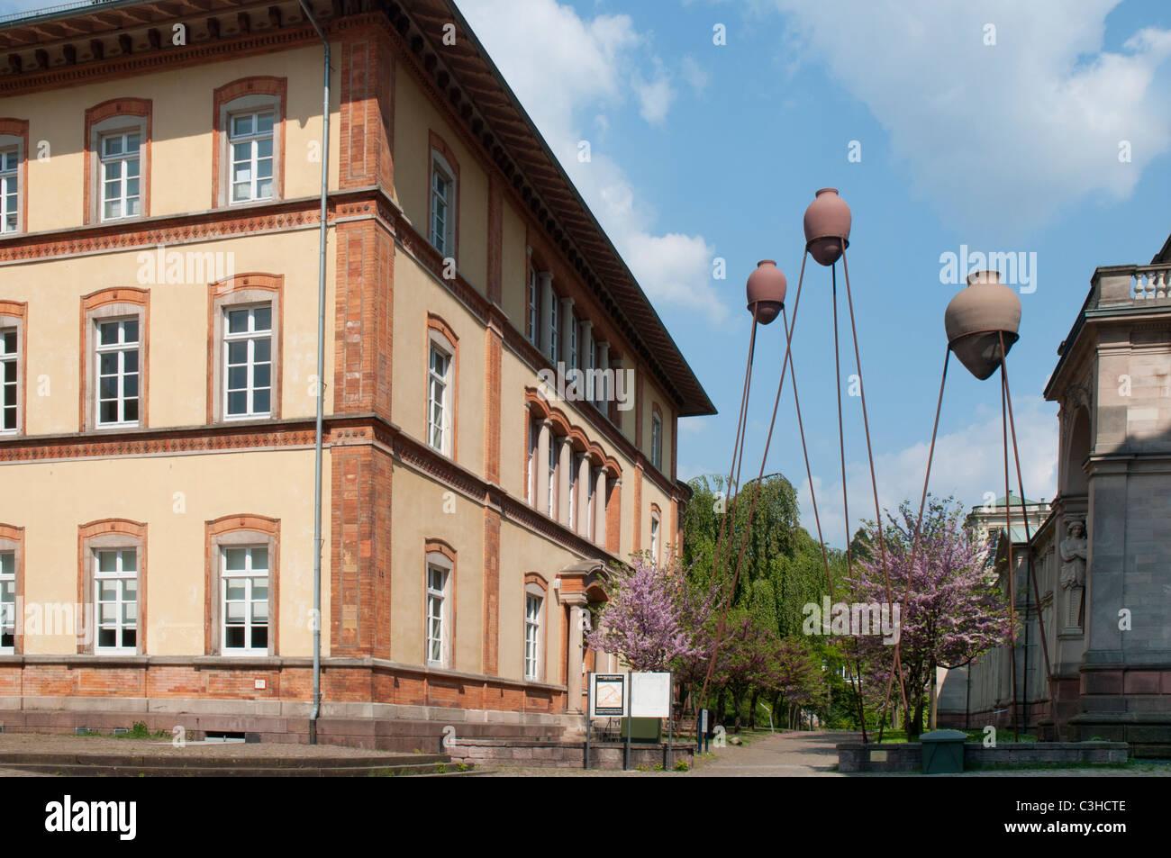 Altes Dampfbad, Haus der Kultur Und Bürgertreff, Baden-Baden, Schwarzwald, Baden-Württemberg, Deutschland Stockbild