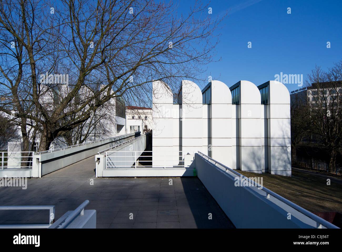 Bauhaus Archiv Museum Berlin Walter Gropius Stockfoto Bild