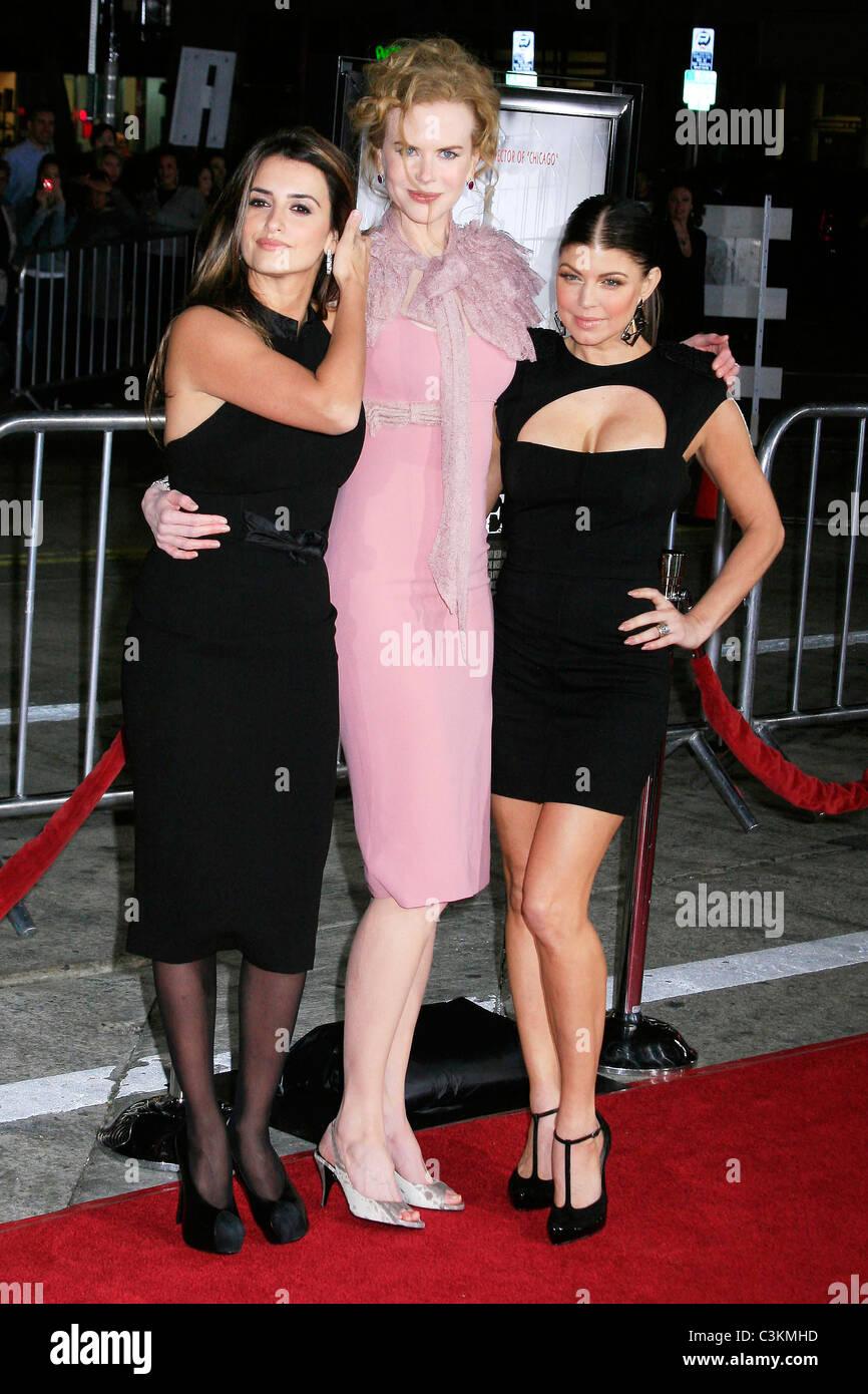 Penelope Cruz Nicole Kidman Und Stacy Ferguson Aka Fergie Los