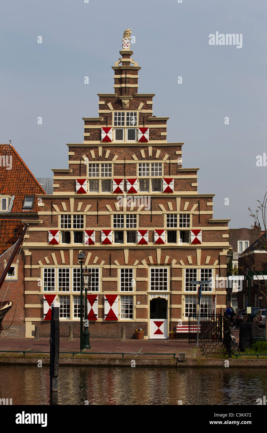 Architektur, Leiden, holland Stockbild