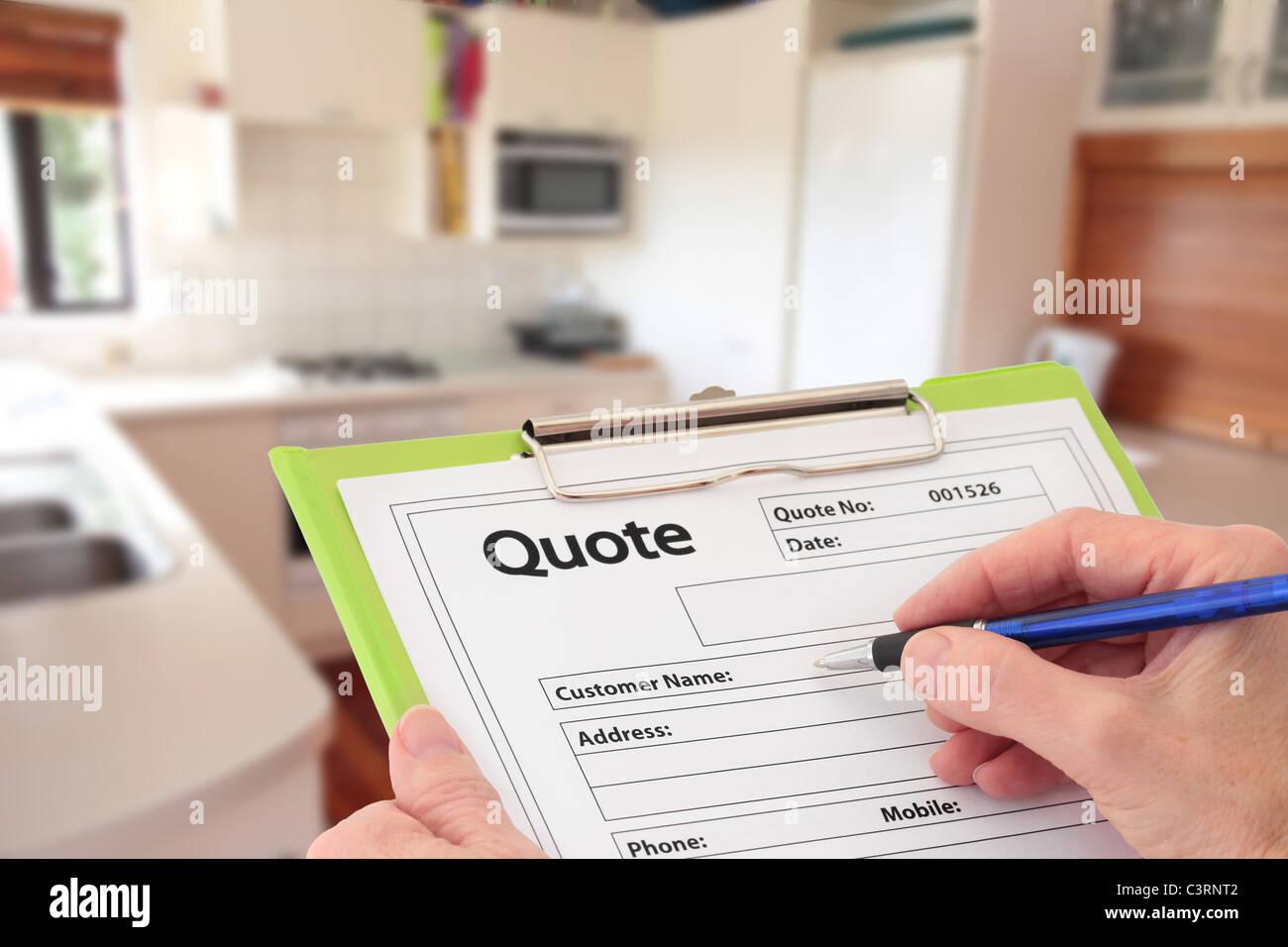 Home Quote Stockfotos & Home Quote Bilder - Alamy