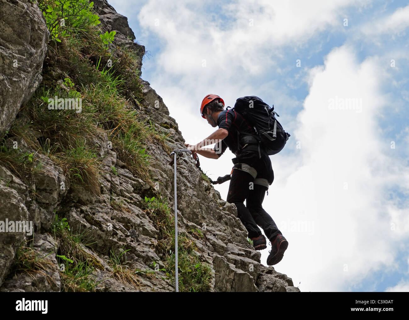 Klettersteig Austria : Der boom ums klettern klettersteige und die frage sicherheit